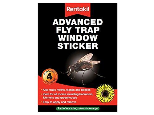 Rentokil Fw35 Window Fly Traps x4