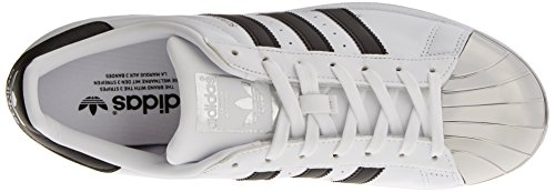 Superstar Metal Metallic footwear core Black Blanc Basses Adidas silver White Baskets Femme Toe d71zWW5wq