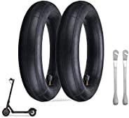 yabbay Thickened Inner Tubes 2 Pack for Xiaomi M365 Electric Scooter,Replacement Inflated Spare Tire.Model: (8