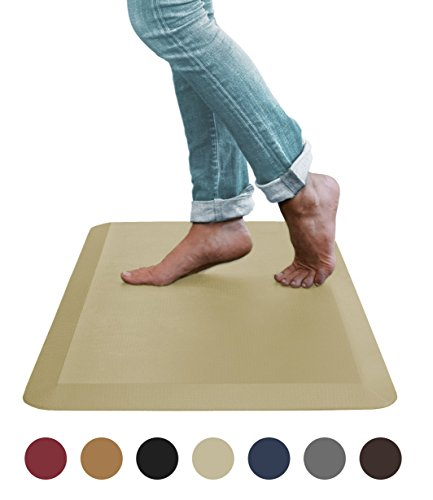 Sky Mat, Comfort Anti Fatigue Mat, Perfect for Kitchens and Standing Desks, 20 x 39 x 3/4