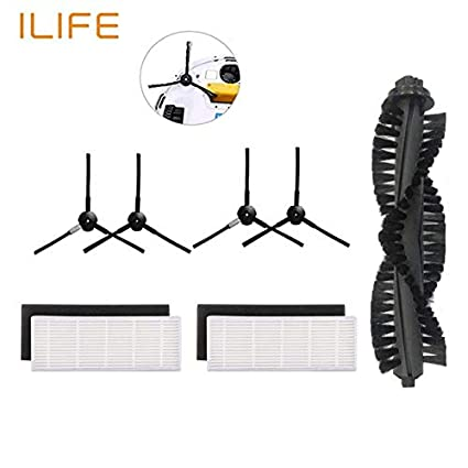 Amazon.com: ILIFE a40 a4s Robot Vacuum Cleaner Parts kit for chuwi ...