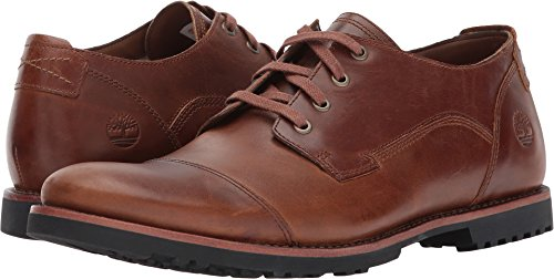 Timberland Men's Kendrick Cap-Toe Light Brown Oxford Shoe 12 Men US (Casual Cap Toe Shoes)