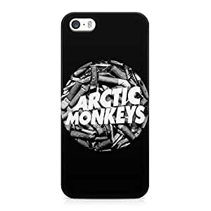 Arctic Monkeys Cigarettes Circle Logo Hard Plastic Snap-On Case Cover For iPhone 5 and iPhone 5s