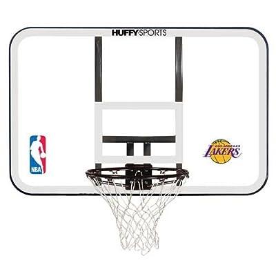 Spalding NBA Team Logo Basketball Backboard and Rim Combo with 44in Acrylic Backboard