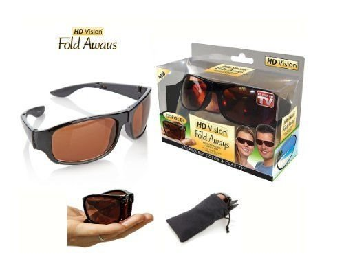 Hd Vision Fold Aways - Sunglasses Half That In Fold