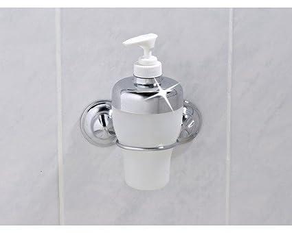 EVERLOC EL 10224 baño pared dispensador de jabón sin agujeros y tornillos