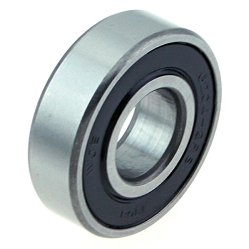 WJB RB6204-2RS RB6204-2RS-Rear Wheel Ball Bearing-Cross Reference: National 204-FF/Timken 204FF / SKF 6204-2RSJ
