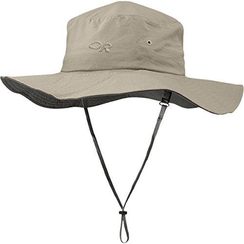 Outdoor Research Kids' Sandbox Sun Hat, Khaki, Small
