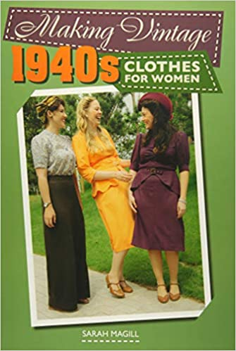 1940s Fabrics and Colors in Fashion Making Vintage 1940s Clothes for Women £25.00 AT vintagedancer.com