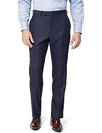 Men's Regular Fit Ink Pants 44R Blue