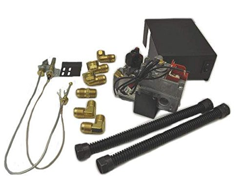 (Hearth Products Controls Dexen 6003 Series Millivolt Valve Kit (MVK-N), Natural Gas)