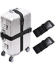 CoWalkers Correas de equipaje, correas de equipaje Correas de maleta Bolsa de viaje Accesorios Bolsa (2 Pcs)