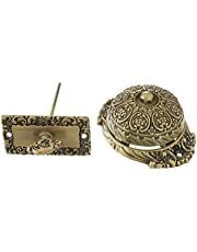 Professional Grade Quality Genuine Solid Brass Ornate Twist Bell by idh