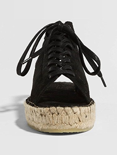 Pieces Claquettes Noir psMelinda Femme amp; Chaussures Suede Sandales S7xaqwSr