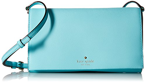 kate spade new york Cedar Street Cali Convertible Cross Body Bag, Atoll Blue, One Size