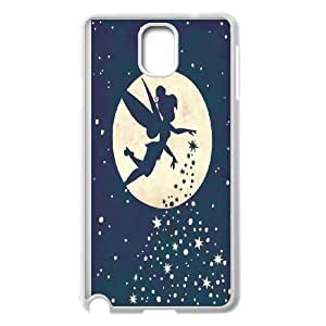 High Quality -ChenDong PHONE CASE- For Samsung Galaxy NOTE4 Case Cover -Tinker Bell In the Wind-UNIQUE-DESIGH 15