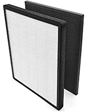 LEVOIT LV-PUR131 LV-PUR131S Air Purifier Replacement Filter, H13 True HEPA and Activated Carbon Filters Set, LV-PUR131-RF