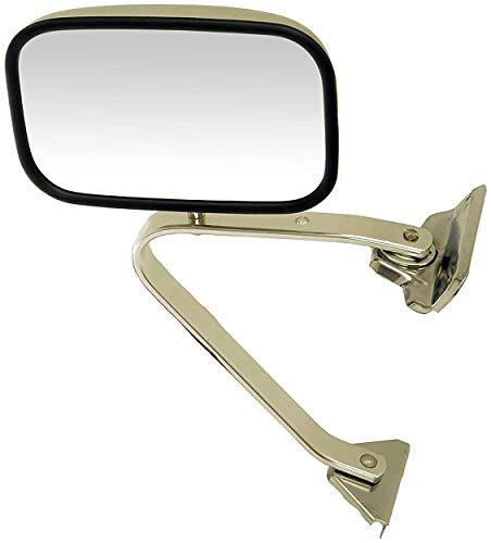 APDTY 066291 Manual Chrome Mirror & Bracket LH=RH