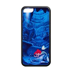 Laser The Little Ariel Mermaid ipod touch 4 touch 4 Cheap iPhone Back TPU and Plastic Case Cover