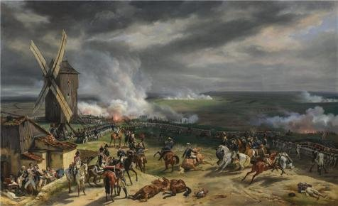 Oil Painting 'Emile-Jean-Horace Vernet - The Battle Of Valmy,1826' Printing On Perfect Effect Canvas , 16x26 Inch / 41x67 Cm ,the Best Kids Room Artwork And Home Decoration And Gifts (Buy Bob Ross Painting Original)