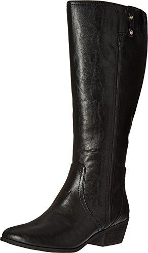 Dr. Scholl's Women's Brilliance Wide Calf Riding Boot, Black, 11 M US by Dr. Scholl's