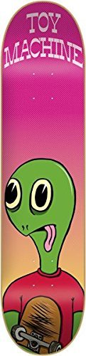 Toy Machine Turtle Boy 8.0 Skateboard Deck (No Grip Tape As Shown)