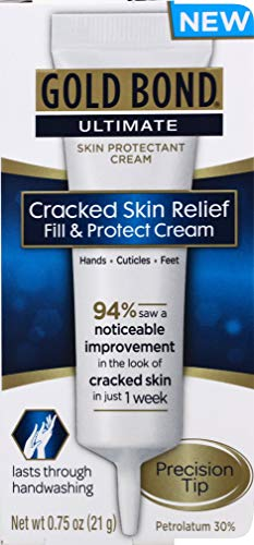 Cracked Skin Relief Cream - Ultimate Cracked Skin Relief Fill & Protect Cream 0.75 oz (Pack of 2)