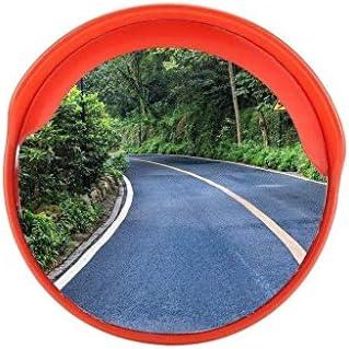 Geng カーブミラー 屋内と屋外での使用に交通凸面鏡多機能飛散防止凸面鏡アンブレイカブル