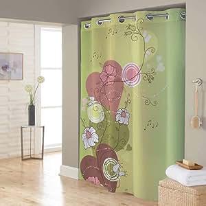 Right Canvas Yellow 180cm x 200cm Shower Curtain - RG138NPIC00116