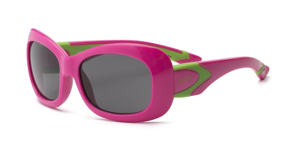 Real Kids Shades Breeze Flex Fit with Polycarbonate Sunglasses (Lens 7 Plus, Aqua/Pink) 7BREAQPK