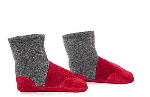 Cashmere Slipper Socks, Toddler Cashmere ()