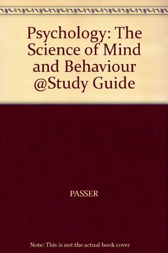 Psychology: The Science of Mind and Behaviour @Study Guide