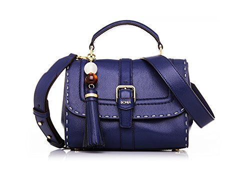 bonia-womans-blue-silvana-satchel