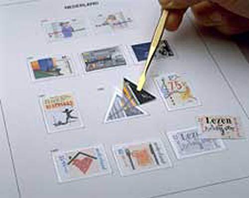 DAVO 5248 Inhalt Luxus Briefmarkenalbum Griechenland III 1970-1985