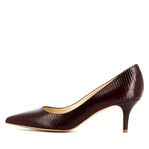 Evita Shoes Giulia Damen Pumps Geprägtes Leder Bordeaux