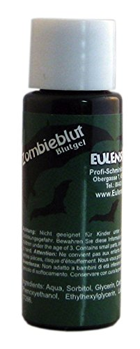 Eulenspiegel Halloween Fake Blood 20ml Dark Green]()