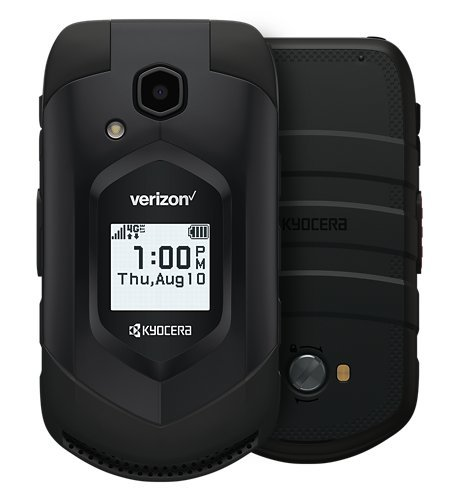 (Kyocera DuraXV LTE E4610 Verizon Wireless Rugged Waterproof Flip Phone (Renewed))
