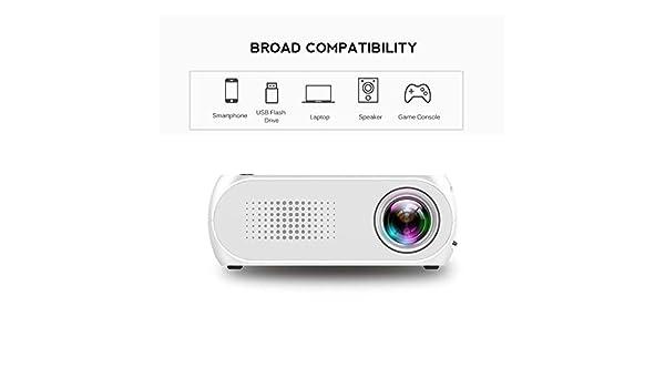 KAIDILA Proyector, proyector Portable del LED de la YG300 PK YG320 ...
