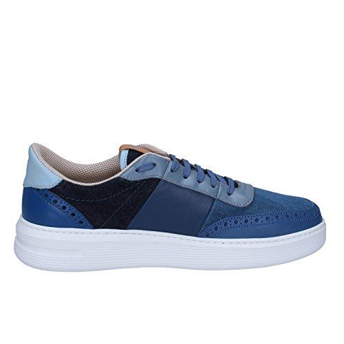 Uomo Blu Brimarts Brimarts Sneaker Sneaker Pelle ZHtYqFO