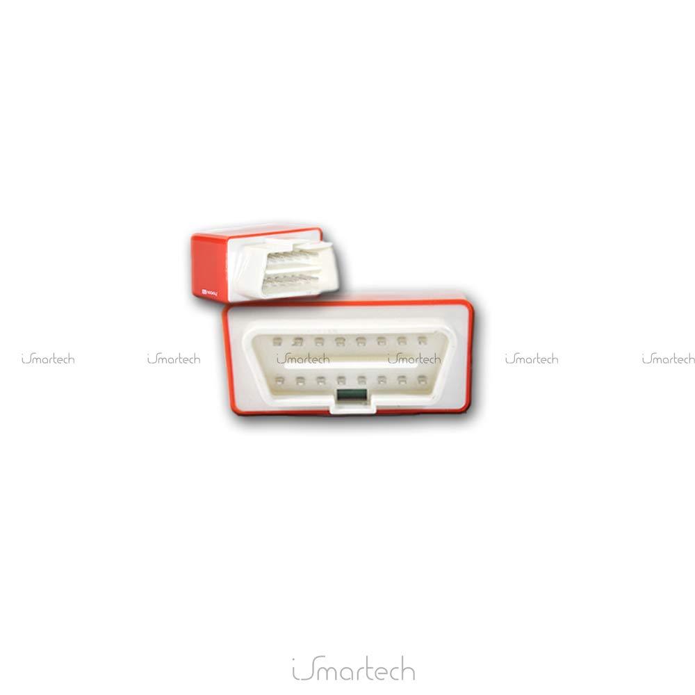 Rojo Kingnew Nitro OBD2/Conector y Stick OBD2/Potencia Chip Tuning Caja Motor Diagn/óstico regulador Herramientas para Diesel Auto General Purpose Modelo