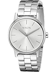 Nixon Womens A3611920 Small Kensington Stainless Steel Watch with Link Bracelet