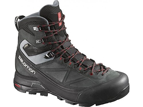 Salomon X-ALP MTN GTX Boot - Men's Black / Asphalt / Flea...