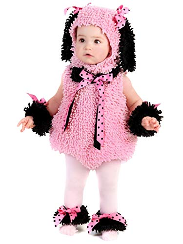 Little Pink Princess Halloween Costume (Princess Paradise Baby Girls' Pinkie Poodle Deluxe Costume, Pink,)