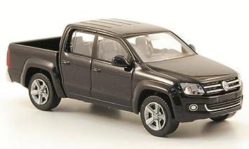 VW Amarok, metallic-black, Model Car, Wiking 1:87: Wiking