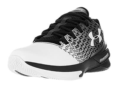 Under Armour Men's UA Clutchfit Drive 3 Low Black/White/White Sneaker 8 D (M)