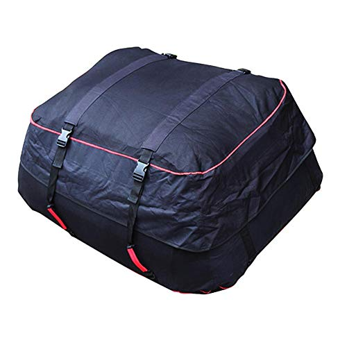 Hetesupply Waterproof Roof Bag Top Car Cargo Carrier Roofbag Large Capacity Luggage&Storage Bags for Travel Camping Outdoor,for Any Cars,Vans,SUV by Hetesupply