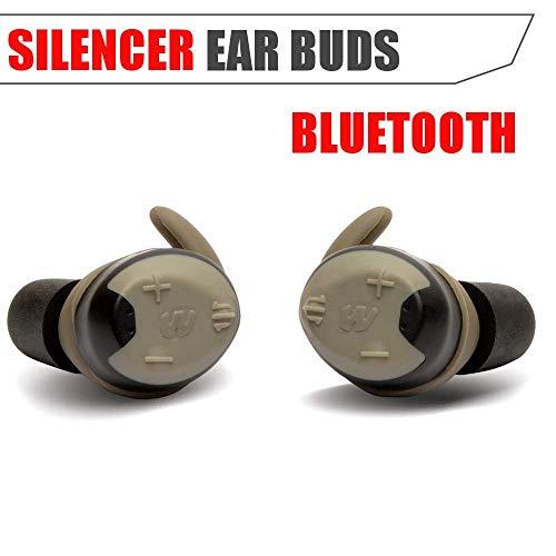 Best Walker Wireless Headsets - Walker's Silencer Bluetooth Digital Earbuds, Recharbeable,