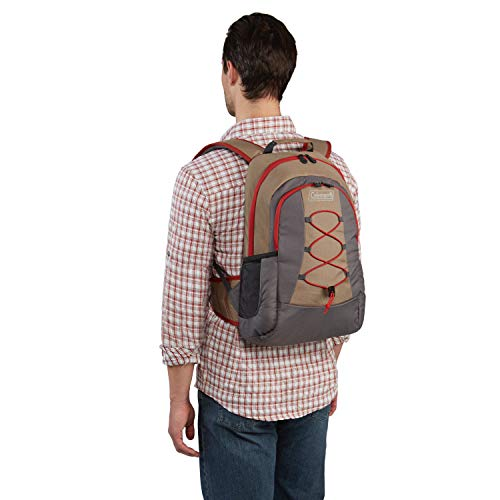 41nU1Gha1ML - Coleman Soft Cooler Backpack | 28 Can Cooler, Khaki
