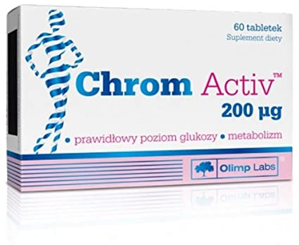 Chrom Activ N60 Provides Your Body with Effective Amounts of ...