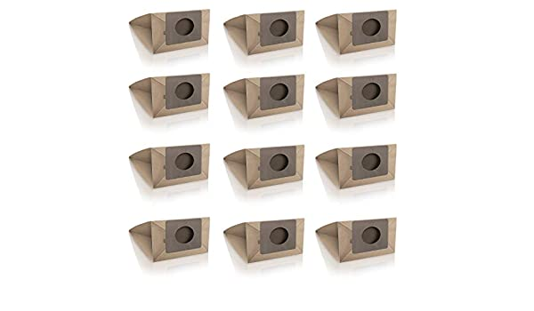 Wessper 12x Bolsas para aspiradora LG V-CP243RDN (Papel): Amazon ...